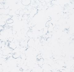 2X2 CORIAN QUARTZ BLUE CARRARA